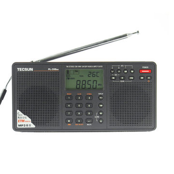 Tecsun PL-398MP 2,2 inch breedband digitale tuning Stereo FM / AM / SW radio-ontvanger