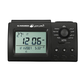 Praying Islamic Desk Azan Table Alarm Clock Elektronische bureauklok