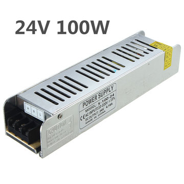 IP20 AC110V-220V Naar DC24V 100W Switching Power Supply Driver Adapte