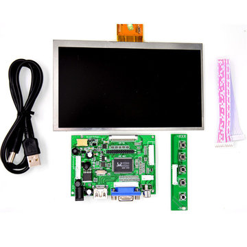 Raspberry Pi 7 inch HD LCD-scherm 1024 * 600 displaymodule-set