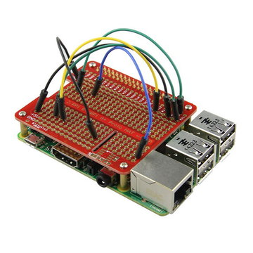 Prototype HAT Shield Voor Raspberry Pi 2/B+/A+