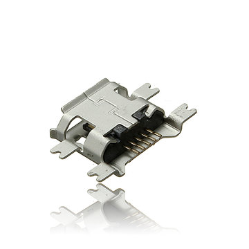 Micro USB Type B Vrouw 5Pin Socket 4Legs SMT SMD Soldering Connector