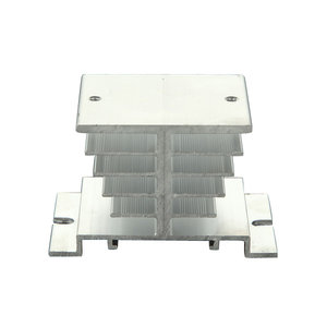 Aluminium Alloy Warmteopvang Voor Solid State Relay SSR Heat Dissipation