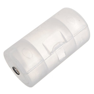 1 AA to D Size Battery Holder Case Adaptor Converter Shell